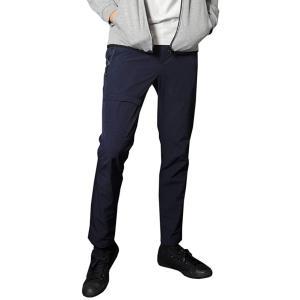 ネイビー XL (ベストマート)BestMart 軽量 ストレッチ 大きいサイズ イージーパンツ ア...