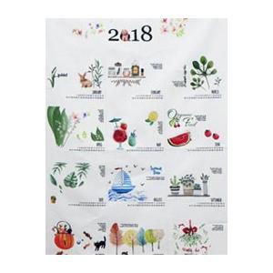 【コットン】2018 ネスホームオリジナル布カレンダー オックスフォード(4種類)|nesshome|02