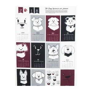 【コットン】2018 ネスホームオリジナル布カレンダー オックスフォード(4種類)|nesshome|03