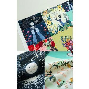 【リネン】星が輝く夜(starry night)ミア・チャロ作品(商用利用不可)◇再入荷◇|nesshome|03