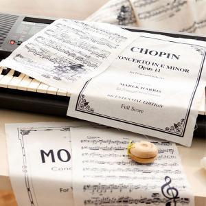 ( リネン ) カンタービレカットクロス 【 手作り 手芸 楽譜 音楽 】 【 商用利用可 】|nesshome