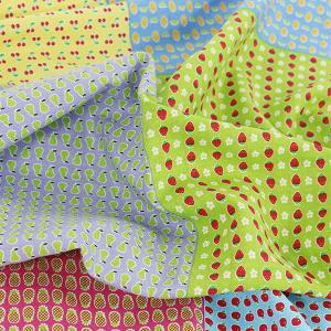 ( リネン ) フルーツ Mini パターン 6 in 1 リネン  【 手作り 手芸 フルーツ  6柄 】 【 商用利用可 】|nesshome