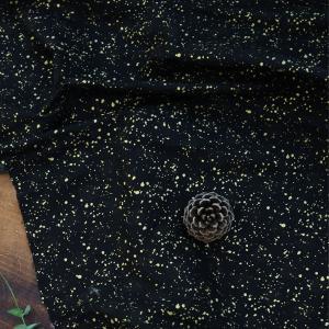 【 コットン 】流れ星金箔コットン(falling star)【 商用利用可 】 nesshome 02
