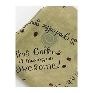 【コットン】コーヒーレタリングコットン|nesshome