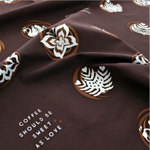 【コットン】 Latte Art オックスフォードコットン|nesshome