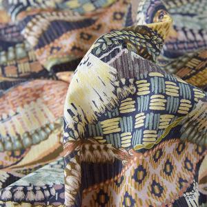 ( リネン ) タンザニア タペストリー(Tanzania Tapestry) リネン【 世界を旅する 】【 手作り 手芸 花柄 】 【 商用利用可 】 nesshome
