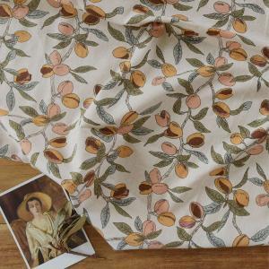 ( リネン ) アラビカ ツリー(Arabica Tree linen) リネン【 世界を旅する 】【 手作り 手芸 コーヒー柄 】 【 商用利用可 】|nesshome