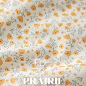 ( コットン ) サンセットフラワー コットン│Pine for Prairie series 【 手作り 手芸 】 【 商用利用可 】|nesshome