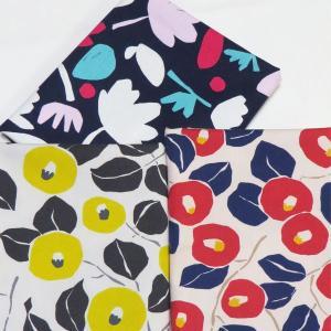 【コットン】カンタータフラワー北欧スタイルオックスフォード 北欧風 フラワー 花柄 オックス コットン ハンドメイド 手作り 手芸 布 材料 通販|nesshome