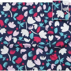 【コットン】カンタータフラワー北欧スタイルオックスフォード 北欧風 フラワー 花柄 オックス コットン ハンドメイド 手作り 手芸 布 材料 通販|nesshome|06