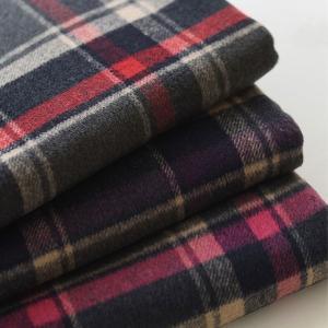 【 ウール混生地 】ウール紡毛チェック3色(生地巾150cm) nesshome