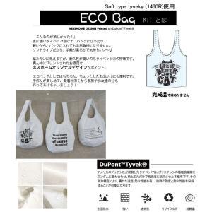 【 お買い得キット 】Tyvek(R) ECO Bag (エコバッグ)レシピ付 タイベックキット nesshome 02