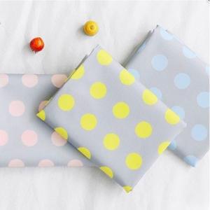 【かばん生地】パステルロードドットKABAN Fabric(生活防水生地/幅150cm) 【 商用利用可 】|nesshome
