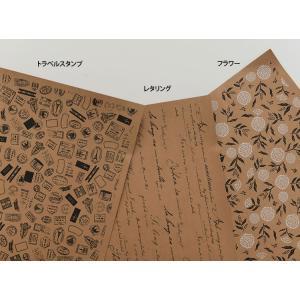 【 紙の生地 】ヴィンテージクラフトペーパーファブリック3種類・洗えます 【ニューアイテムSALE 特別価格】 nesshome 05