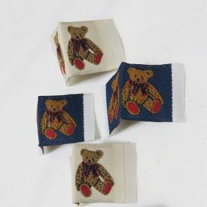 【ラベル】Teddy Bear Label(テディベアラベル)挟むタイプ2個|nesshome
