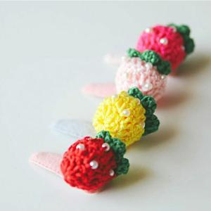 【モチーフ】イチゴ2個セット(4color)モチーフ|nesshome