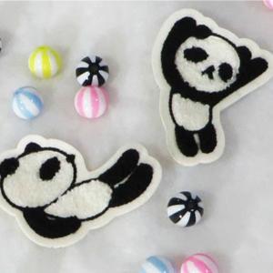 【ワッペン】モコモコ赤ちゃんパンダ|nesshome