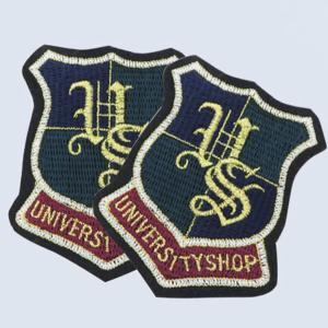 【ワッペン】エンブレム(University shop)ワッペン|nesshome
