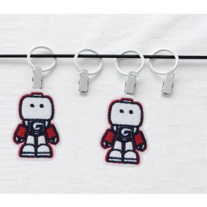 【ワッペン】レッドロボットワッペン/キャラクターワッペン|nesshome|03