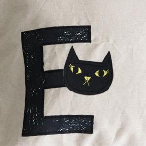 【ワッペン】Gold cat ワッペン/キャラクターワッペン|nesshome