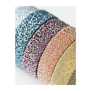 【手芸テープ】Pearl Knit(パールニット)グリッターリボン(幅1.5cm)|nesshome|02