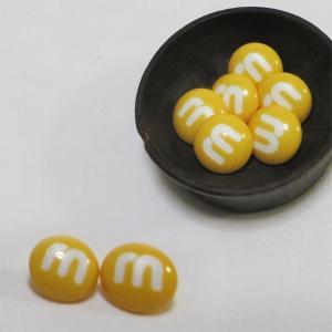 【ボタン】MM Choko(エムアンドエムチョコ)ボタン2個 手芸 かわいい ぼたん チョコレート 手作り ハンドメイド|nesshome