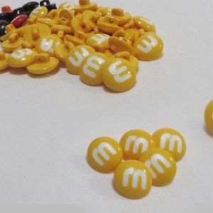 【ボタン】MM Choko(エムアンドエムチョコ)ボタン2個 手芸 かわいい ぼたん チョコレート 手作り ハンドメイド|nesshome|03