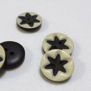 【ボタン】One Star(ワンスターボタン)ボタン2個|nesshome