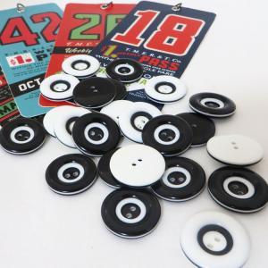( ボタン )Circle Line Button(サークルライン)ボタン2個【 商用利用可 】 nesshome 03