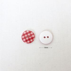 ( ボタン )Red Check Button(レッドチェック)ボタン2個【 商用利用可 】|nesshome|02