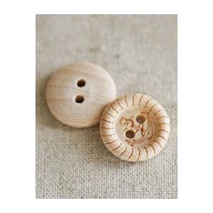 【ボタン】Wood anchor ボタン(2個)|nesshome