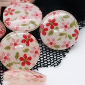 ( ボタン ) ペンタス(Pentas Flower) ボタン  (2個) 【 商用利用可 】【 新商品セール 特別価格 】|nesshome