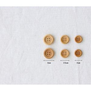 【ボタン】2.5cm カントリーウッドボタン(1個)|nesshome|02