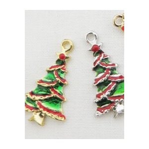 【チャーム】クリスマスツリー(2種類)|nesshome