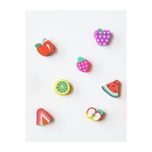 ◆夏の手作りアクセサリー特集!◆【チャーム】手芸フルーツビー...