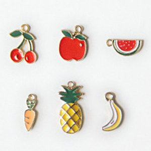 【チャーム】おいしいフルーツチャーム(6種類)|nesshome
