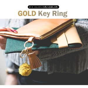 【チャーム】Gold Key Ring|nesshome|02