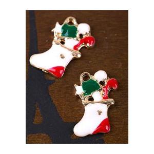 【チャーム】クリスマスの靴下〜サンタからのプレゼント〜|nesshome