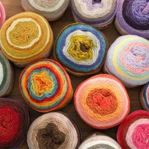 ( 毛糸 ) デコヤーン 17種類  編み物 毛糸 簡単【 商用利用可 】|nesshome
