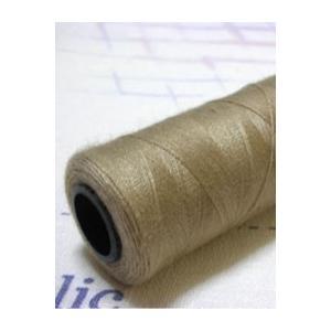 【糸】ポータブルミシン糸 350m(ダークベージュ)|nesshome