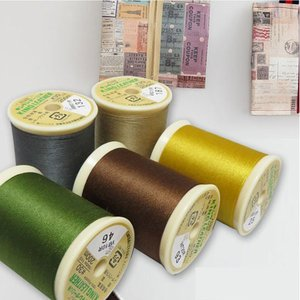 【糸】キングレザー(皮革・合成皮革に適したミシン糸)200m/フジックス【ネコポスor宅急便受付】|nesshome