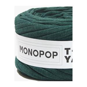【価格改定 値下げしました】【Tシャツヤーン】DARK GREEN BOKASHI 無地/モノポップMONOPOPTシャツ ヤーン|nesshome