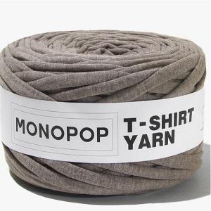 【価格改定 値下げしました】【Tシャツヤーン】MOCHA BROWN BOKASHI 無地/モノポップMONOPOPTシャツ ヤーン|nesshome
