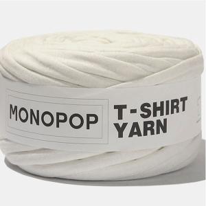 【価格改定!値下げしました】【Tシャツヤーン】生成(OFF WHITE MUji)モノポップMONOPOPTシャツ ヤーン|nesshome