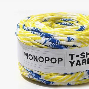 【ニューアイテム!SALE!!特別価格】【Tシャツヤーン】アロハイエローブルー(ALOHA YELLOW BLUE)モノポップMONOPOP|nesshome