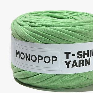 【Tシャツヤーン】BOKASHI YELLOW GREENモノポップMONOPOPTシャツヤーン【 編み物 手芸 】|nesshome