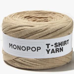 【Tシャツヤーン】PEANUT BUTTER SLUB MujiモノポップMONOPOPTシャツヤーン|nesshome|02
