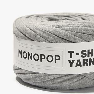 【 Tシャツヤーン 】グレー(GRAY MUji)モノポップMONOPOPTシャツヤーン【ニューアイテム!SALE!!特別価格】|nesshome