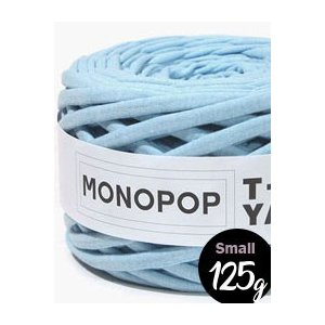 【Tシャツヤーン】Smallスカイブルー(SKY BLUE MUji)モノポップMONOPOPTシャツヤーン|nesshome