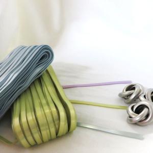 【コード】ハワイアンコード 5mmエナメルパール(5mm×30m巻) 編み物 ハンドメイド 糸 通販 手芸 材料 nesshome 02